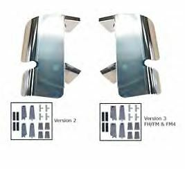 Volvo FH/FM Version 2 (2002-2009) Mirror Guard Kit