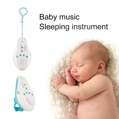 Baby Sleep White Noise Sound Machine Voice Record Sensor Infant Monitor Opulent