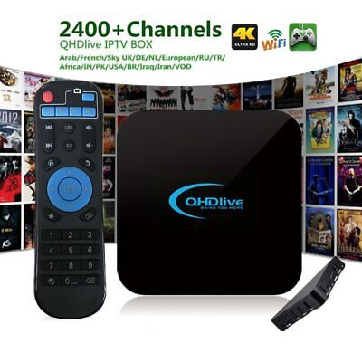 IPTV 1G+8G TV Box Intelligente 2400+ Live Kanalen Netwerk Android OS 6.0 EG