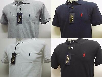 Ralph Lauren Polo Custom Slim Fit Man's T-shirt Fast and Free UK Delivery