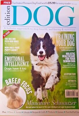 Dogs Magazine 2018 # 1 = Holistic Approach To Dog Health Wellbeing And Nutrition
