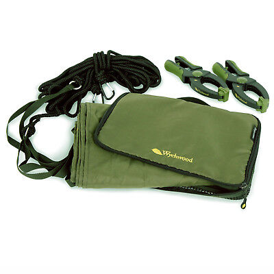 Wychwood Competition Drogue With 3 Inch Clamps & Carry Case For Boat Fishing