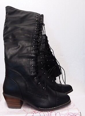 13442e093ed JOURNEE COLLECTION SPRITZ Wide Calf Women Black Over the Knee Boot ...