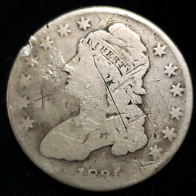 1835 US Capped Bust Silver Half Dollar .50c Cent Nice Collector Coin (CBHD3532