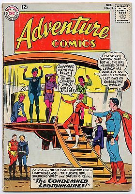 Adventure Comics 313 October 1963 Superboy Legion