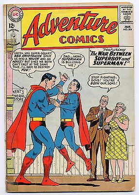 Adventure Comics 304 January 1963 Superboy Legion