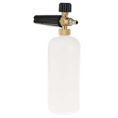 White Car Wash Foam Lance Cannon Soap Bottle Jet Spray Pressure Washers