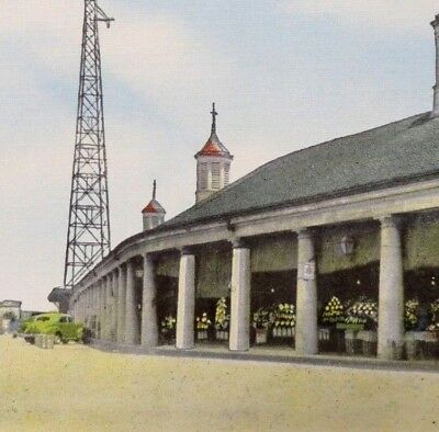 Vintage Louisiana Linen Postcard - New Orleans - French Market              A332