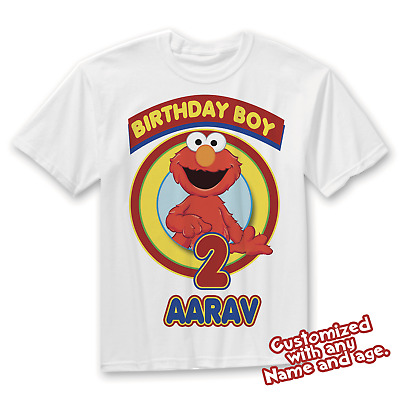 Elmo Matching Family Birthday Shirts Shirt Party