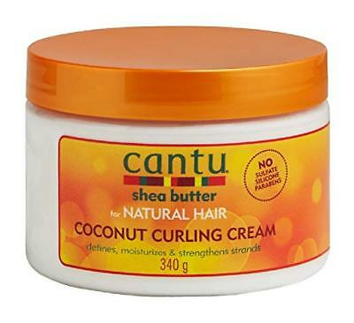 Cantu Coconut Curling Cream Shea Butter for Natural Hair 12 oz. NEW
