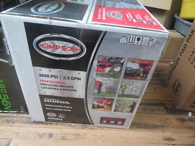 Simpson PS60842 Powered by Honda 3600 PSI 2.5 GPM Gas Pressure Washer