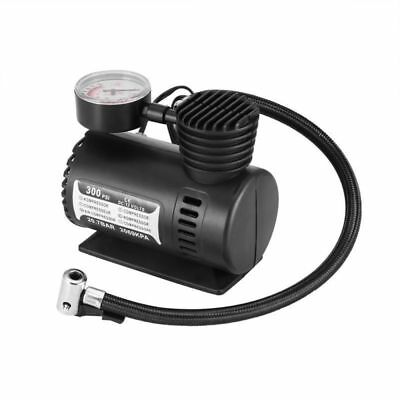 12V Auto Pressure Gauge Air Compressor Pump Tyre Inflator For Car Ball Bycycle
