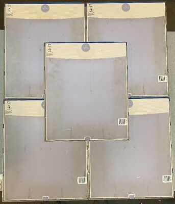 Lot of 5 - Konica Regius CR Plate and Cassette 14x17 RC-110 RP-4S