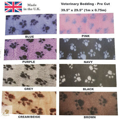 Hem & Boo Dog Veterinary Bedding None Slip - 1m x 0.75m Ideal Puppy Whelping Box