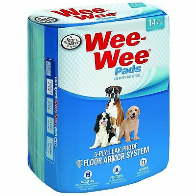 - NEW - Four Paws Wee-Wee Pet Training and Puppy Pads ONLY 28 NOT 50!!!