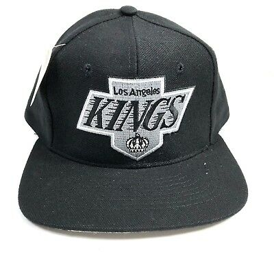 Vintage NHL Los Angeles Kings Snapback Hat Size OS