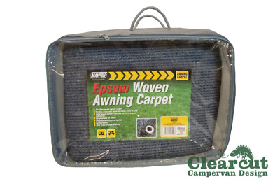 2.5m x 3.5m Awning Carpet, Woven Awning/Tent Carpet, Campervan Awning Carpet