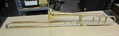 Used Blessing B-88-O F Attachment Rotary Trombone No CASE or MouthPiece