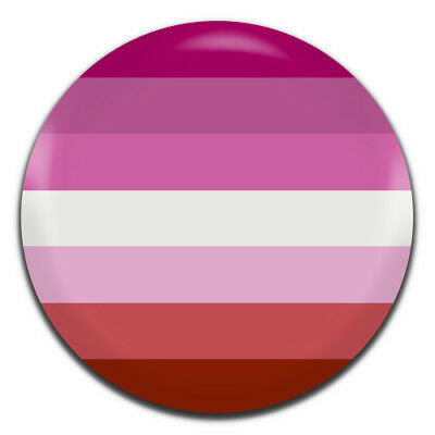LGBT Lesbian Pride Flag 25mm / 1 Inch D Pin Button Badge