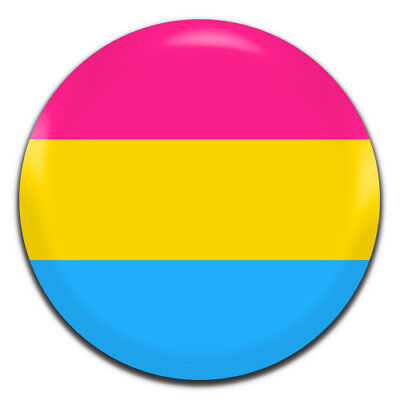LGBT Pansexual Pride Flag 25mm / 1 Inch D Pin Button Badge