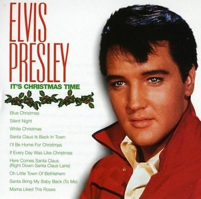 ELVIS PRESLEY - It's Christmas Time (CD, 1985, BMG Special Products) - NEW