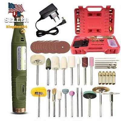 Tool Dc 18V Handy Mini Electric Grinder Drill Engraver Rotary Tools Kit