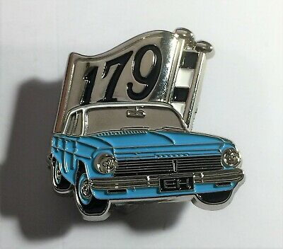EH Holden (Blue) Quality Metal 179 Flag Car Badge, Hat Pin, Lapel Pin. Gift