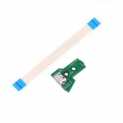 12 Pin Flex Cable & USB Charging Power Board PCB For PS4 Pro Controller JDM-055