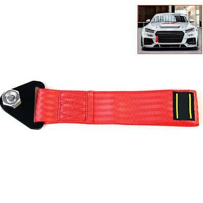 1x Car Sports High Strength Racing Tow Strap Front Rear Bumper Towing Hook Kit