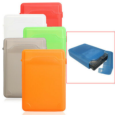 3.5Inch For Hard Drive IDE SATA Full Case Protector Storage Box Plastic NEW