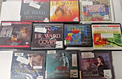 Fantasy Audio Books Lot of 10 on CD FREE SHIPPING Unabridged A-3
