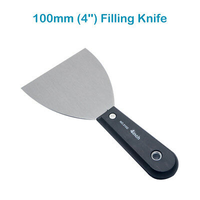 100mm Stainless Steel Filling Knife, Drywall Plastering Spatula Taping Knife DIY