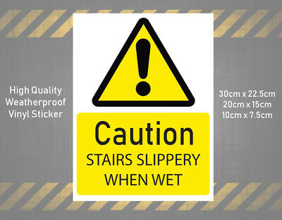 pack of 25 self adhesive vinyl CAUTION Harmonisation Labels 100mm x 50mm