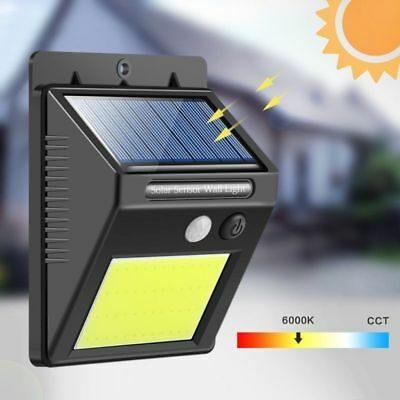 48 LED Waterproof Solar Powered PIR Motion Sensor Light Outdoor Garden Wall Lamp