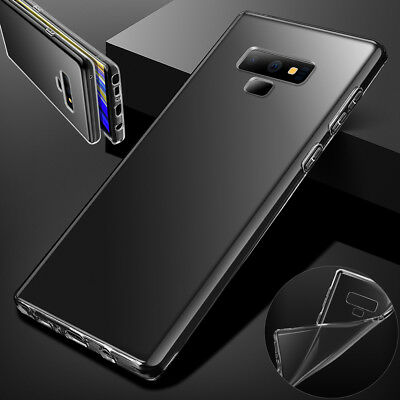 Ultra Thin CLEAR Shockproof TPU Soft Gel Case Cover for Samsung Galaxy Note 9