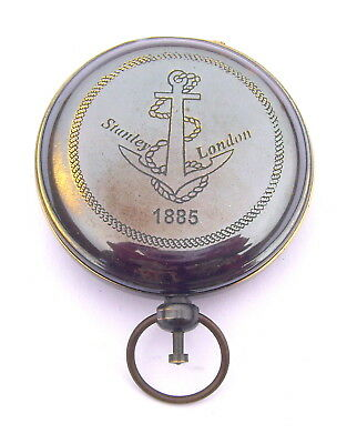 brass compass, engraved compass, personalized compass, working compass