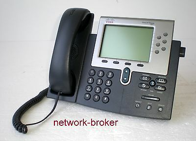 Cisco CP-7961G 7961 IP Phone VoIP Telefon geprüft