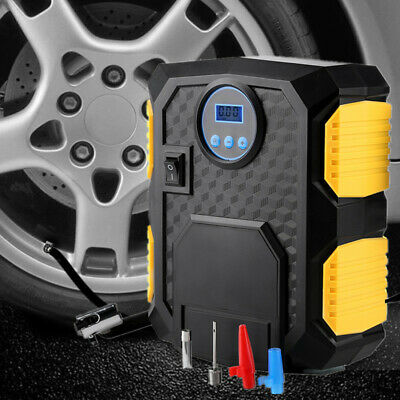 12V Electric Car Tyre Inflator Pump Portable Digital Air Compressor Pump