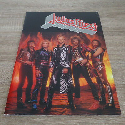 Judas Priest 1986 Japan Tour Program Brochure Pamphlet Book UDO Music