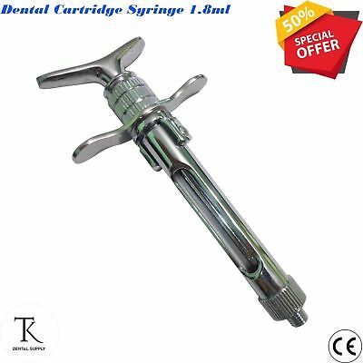 Dental Surgical Syringe Cartridge Syringe 1.8ml Anesthetic Laboratory instrument