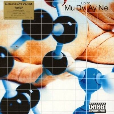 MuDvAyNe L.D. 50 2LP limited edition numbered blue vinyl NEW and sealed