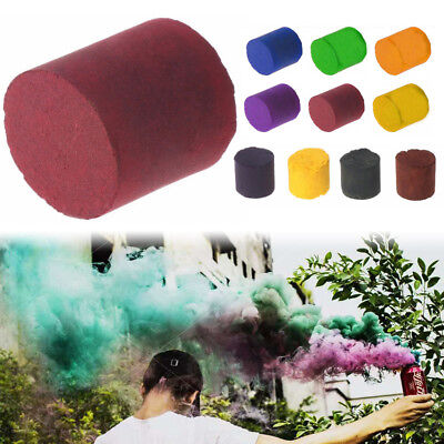Smoke Cake Colorful Smoky Effect Stage Movie Show Round Photography Aid Props US