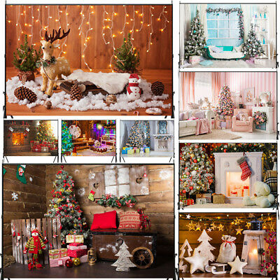 Christmas Photo Photography Props Background Cloth Backdrop For Studio 3X5/5x7FT