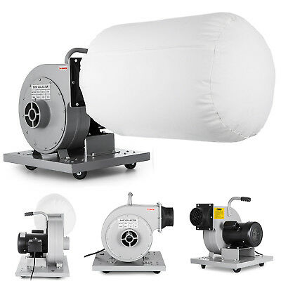 1 HP 110V Single Container Light Duty Wall Hanging Dust Collector
