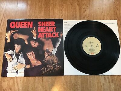 QUEEN - Sheer Heart Attack - Vinyl LP super top copy mega clean sounds great 👍
