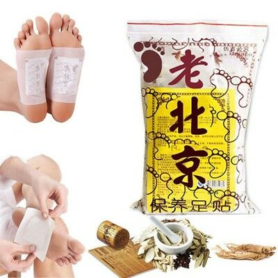 50x Healthy Detox Foot Patch Pads Feet adhesive sheets Remove Body Toxins