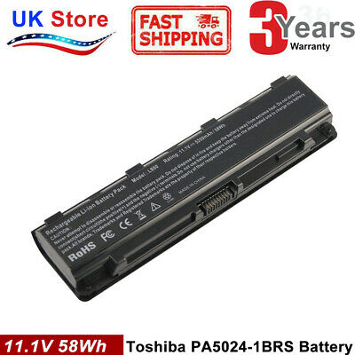 Battery For Toshiba Satellite C850D C855D C870D C875D Series Laptop PA5024U-1BRS