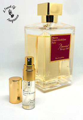 BACCARAT ROUGE 540 EDP by Maison Francis Kurkdjian - 5ml sample - 100% GENUINE