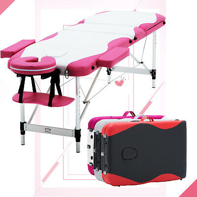 Portable Folding Massage Table Couch Bed Beauty Salon Tattoo Therapy Lightweight