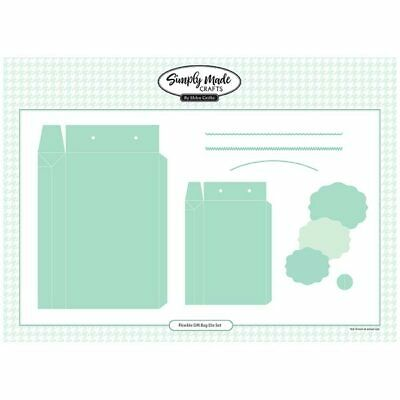 Simply Made Crafts Die Set Flexible Gift Bag | Set of 11